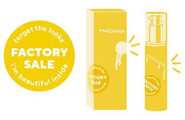 MADARA Cosmetics - Factory Sale