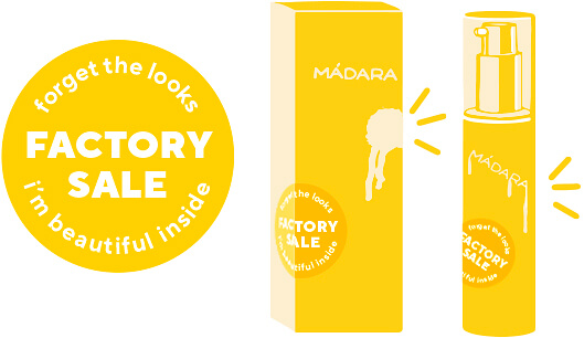 MADARA Cosmetics - Factory Sale