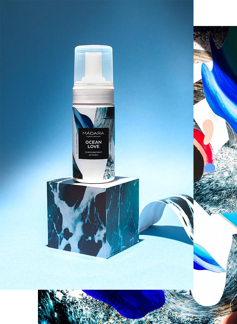 Attīrošas ziepes MADARA Cosmetics Ocean Love