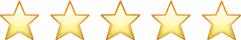 MADARA Cosmetics 5 star rating